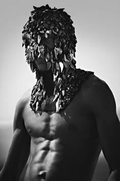 MASKS by MADS DINESEN, HYERES 2011, PHOTOGRAPHY BY RENÉ HABERMACHER