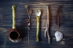 """Ceramic cezve & spoon """"the summer solstice"""""""
