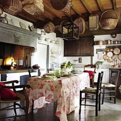 Rustic Kitchen by Dede Pratesi