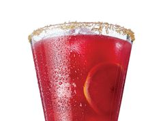Club soda is unconventional in margaritas, but the added sparkle elevates this drink. Look for dried hibiscus flowers in Latin markets where chiles and spices are found. View Recipe: Hibiscus-Lemon Margarita