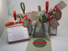 12 Days of Christmas~~Gift Idea~