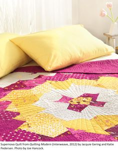 Supernova Quilt, a reader favorite, from Quilting Modern by Jacquie Gering and @Katie Pedersen