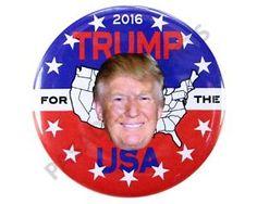 "2016 Donald Trump for President USA 2 25"" Campaign Button Dtusa | eBay"