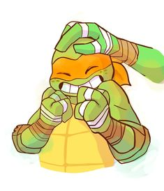 Ninja Turtles Art, Teenage Mutant Ninja Turtles, Miguel Angel, Tmnt Human, Tmnt Mikey, Turtles Forever, Tmnt Comics, Tmnt 2012, Art Memes