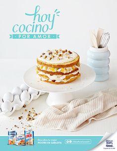 Campaña Ideas para consentir Nestlé, postre Carlota. Fotografía: Esteban Brocos