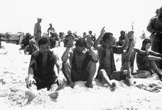 Japanese prisoners of war at Tarawa
