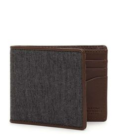 Jack Spade Herringbone Bill Holder / Wantering