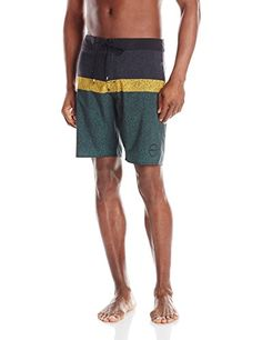 af0255a1ae7 RVCA Men's Cold Fusion Trunks, Black, 34 *** Locate the offer simply by  clicking the image. Men's Swimwear · Board Shorts