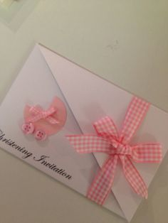 Christening, Naming Day or Baptism Invitation