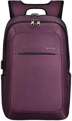 🥇 Slotra Antirrobo Portátil USB es la mochila más buscada para el instituto, la uni, para llevar de viaje de trabajo, para mujer, impermeable, cómoda, ESENCIAL Usb, The Originals, Small Backpack, Raincoat, Get Well Soon