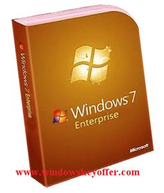 Windows 7 Enterprise retail versions with the download link and a genuine license key ,only $45.99