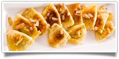 crunchy, fried chorizo & cheddar pierogies