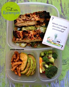 Healthy lunches with @Jennifer Tyler Lee / Crunch a Color @Kelly Lester / EasyLunchboxes and @NatureBox