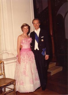 Royalement Blog: Royal Ball-early 80s Princes Marie Astrid of Luxembourg and Archduke Christian of Austria