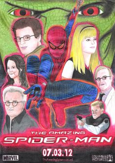 andrecamilo18's The Amazing Spider-Man Second Poster