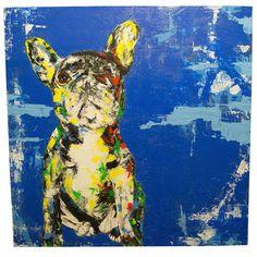 COOL画「フレンチ ブルドック (犬)」[TOMOYA]   ART-Meter