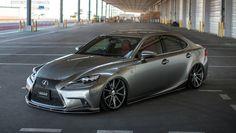 Lexus IS F-sport lexon slammed