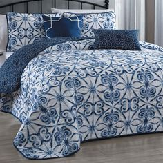 Paloma 5 Piece Quilt Set