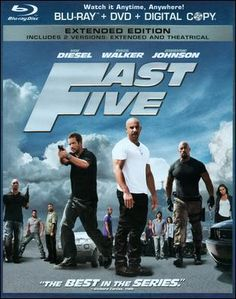 Fast Five, enjoyed watching it with my man ♥