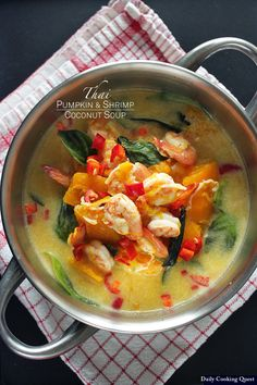 <p>Pumpkin really goes hand in hand with coconut milk, be it in a sweet dessert like Indonesian kolak, or in savory soup such as this. The addition of lemongrass, shrimp paste, chilies, and palm sugar really tie everything together beautifully in this simple and hearty soup. ♥ Print Thai Pumpkin …</p>