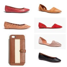 ISO MADEWELL I AM NOT SELLING THESE!  I'm hoping to find these: D'Orsay Flats in Chambray or Red Suede Size 6.5 D'Orsay Flats in Leather - Sandstone 6.5 The Maud Flat Size 6.5 The Robin Mule in Black or Saddle Size 6.5 Berliner Shoulder Bag iPhone 5 Wallet Case in Paintstripe Holepunch Pointy Skimmers Size 6.5 or 7 Holepunch Sidewalk Skimmers Size 7 Sidewalk Skimmers Size 7 D'Orsay Heels Size 6.5 Bazaar Mini Wedge Size 6.5 Mira Midi Heel Size 6.5 Mira Flats Size 6.5 The Teddy Loafer Size 6.5…