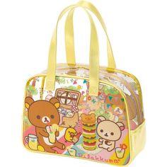kawaii Rilakkuma bear picnic handbag by San-X