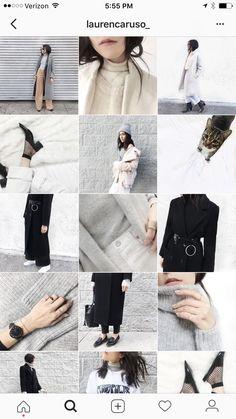 White Feed Instagram, White Instagram Theme, Best Instagram Feeds, Instagram Feed Ideas Posts, Instagram Feed Layout, Black And White Instagram, Gray Instagram, Instagram Grid, Instagram Design