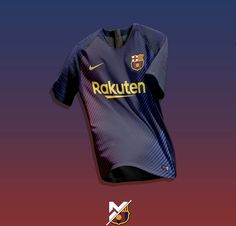 Nike Soccer Jerseys, Soccer Uniforms, Soccer Kits, Football Kits, Barcelona Soccer, Fc Barcelona, Uniform Ideas, Uniform Design, John Wick