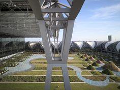 Landscape Architecture, Landscape Design, Suvarnabhumi Airport, Bangkok, Thailand, Board, Inspiration, Biblical Inspiration, Landscape Designs
