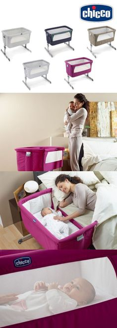 Baby Nursery: Chicco Next 2 Me Bedside Co-Sleep Sleeping Baby Crib New Original Fast Delivery BUY IT NOW ONLY: $209.0