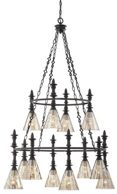 South Shore Decorating: Savoy House Lighting 1-4901-12-02 Darian Transitional Chandelier SVH-1-4901-12-02