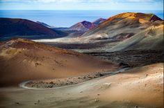Par national de Timanfaya paysage #volcanique à #Lanzarote #Canaries