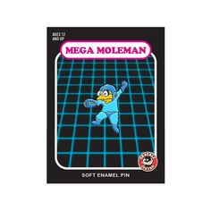 Mega Moleman - Now available! . http://ift.tt/21TlYSm AVAILABLE LOCALLY AT: @partsandlabour .  #pin #pins #pingame  #patchgame #enamelpin #lapelpin #hatpin #hatpins #capcom #megaman #nes #simpsons #moleman #retrogaming by grackledistro
