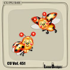 LemurDesigns: CU Vol. 451 Ladybug