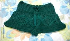 Crochet cute shorts for summer