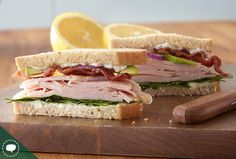 Try this delicious Turkey Cobb Salad Sandwiches recipe made with HORMEL® NATURAL CHOICE® products.