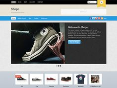 Shopo is an eCommerce theme designed for larger shops with large selection of products. It has many promotional areas: duel navigations in the header, welcome message, feature slider and product slider. Wordpress Plugins, Ecommerce, Display Banners, Responsive Layout, Social Media Icons, Premium Wordpress Themes, Shopping, Larger, Shops