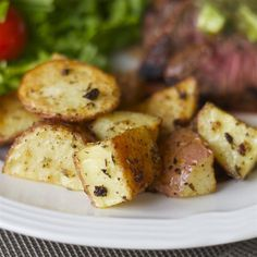 """Dijon Roasted PotatoesI """"Mine smelled great: it was an awesome combination of ingredients. They tasted great: very flavorful and crispy."""""""