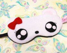 kawaii eye mask - Buscar con Google