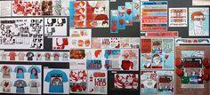 Top Art Exhibition - Design » NZQA Art Boards, Design Boards, Graphic Art, Graphic Design, Red Bedding, Exhibition, Design Development, Portfolio Design, Illustrators