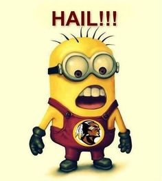 Redskins Minion!!                                                       …