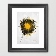 Don't Destroy the Vinyl Framed Art Print by Sitchko Igor - $35.00