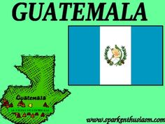 This 20 slide Power Point Show includes many beautiful photos along with up-to-date information about major cities, music, foods, dances, geography, and much more!  The Guatemala Power Point includes a variety of music and sounds and is sure to motivate your students to want to learn more about the Spanish-speaking countries.