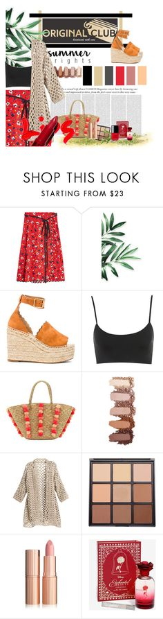 """""""Untitled #470"""" by meera-cx ❤ liked on Polyvore featuring Marc Jacobs, Chloé, Oris, Seafolly, Morphe, Disney and Chanel"""