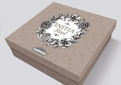 cookware packaging design for Campana Home Cooking