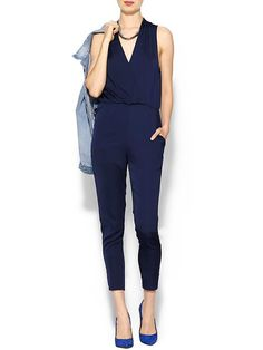 Another v-neck jumpsuit. I'm serious about these being my summer uniform. I have two already so comfortable and cool!