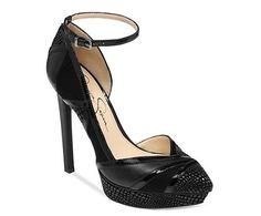 Jessica Simpson 'Vinidi' Ankle Strap Platform
