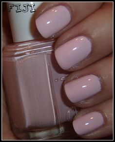 "Essie Fiji*****First used this Dec. 2013 and I LOVE it. Beautiful and soft pink, but not ""too"" pink. I use 3-4 coats to get the depth of color I want.*****"