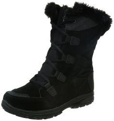 Columbia Women's Ice Maiden II Winter Boot,Black/Columbia Grey,7 M US