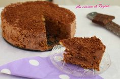 Torta mousse al cioccolato e cookies